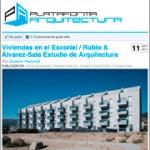 Viviendas en el Escorial / Rubio & Álvarez-Sala Estudio de Arquitectura