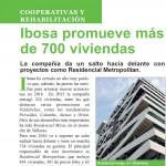 Grupo IBOSA arranca el 2016 con más de 700 viviendas en gestión.