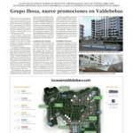 Grupo Ibosa, 9 promociones en Valdebebas