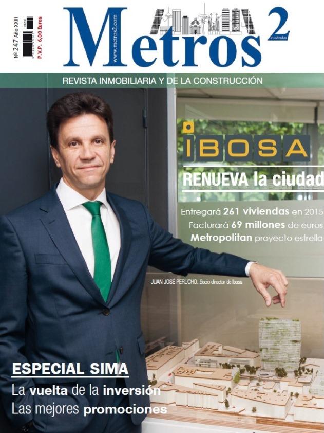 Portada y reportaje interior sobre Grupo IBOSA.