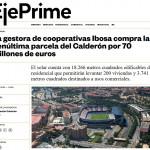 La gestora de cooperativas Ibosa compra la penúltima parcela del Calderón por 70 millones de euros