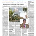 La promotora Grupo IBOSA va a acudir a la subasta organizando una cooperativa de viviendas. - Residencial Metropolitan-